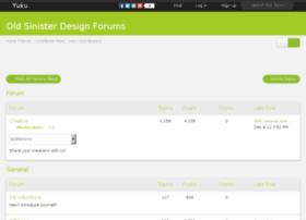 sinisterdesign.freepowerboards.com