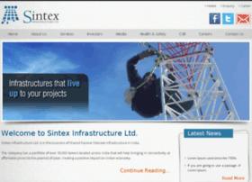 sintexinfrastructure.com