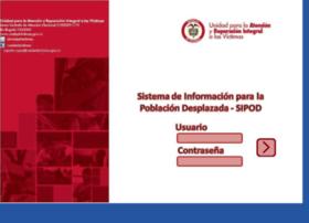 Sipod.unidadvictimas.gov.co