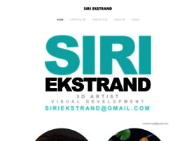 siriekstrand.com