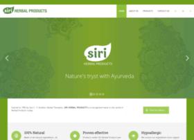 siriherbalproducts.com
