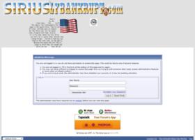 siriuslybankrupt.com