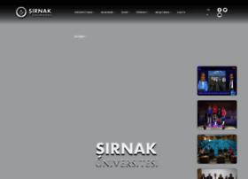 sirnak.edu.tr