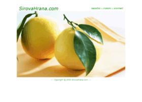sirovahrana.com