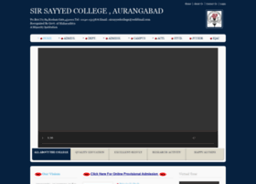 sirsayyedcollege.org