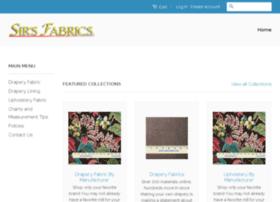 sirsfabric.com