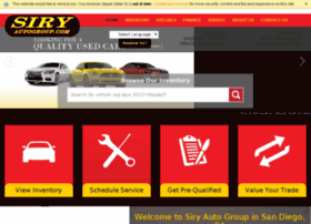 siryautogroup.com