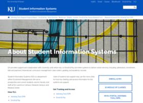 sis.ku.edu