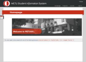 sis.metu.edu.tr