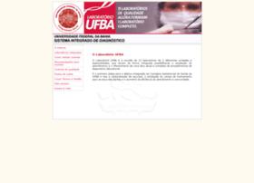 sistemalaboratorial.ufba.br