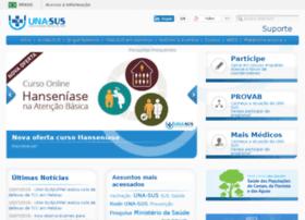 sistemas.unasus.gov.br