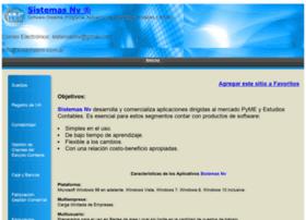 sistemasnv.com.ar