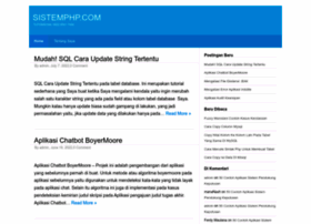 sistemphp.com