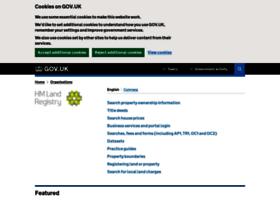site.landregistry.gov.uk