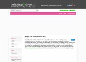 site.littlethingsfavors.com