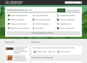 site.nottinghamshire.gov.uk