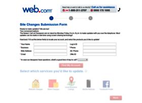 sitechanges.web.com