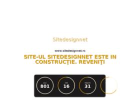 sitedesignnet.ro