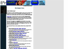 sitegadgets.com
