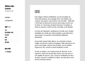 sites-de-corse.info