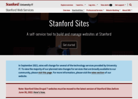 sites.stanford.edu