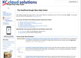 siteshelp.kccloudsolutions.com