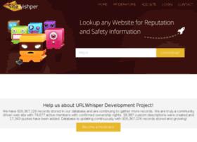 sitewhisper.net