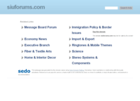 siuforums.com