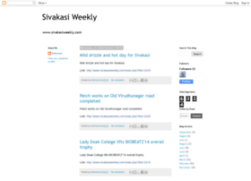 sivakasiweekly.blogspot.in
