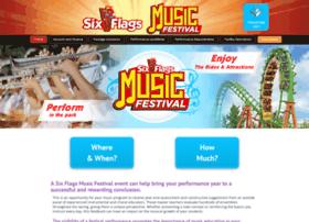 sixflagsmusicfestival.com