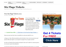 sixflagstickets.org