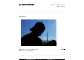 sixgreenapples.com