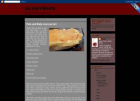 sixingredients.blogspot.com