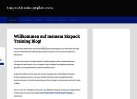 sixpacktrainingsplan.com