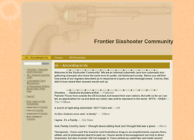 sixshootercommunity.com