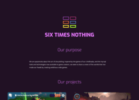 sixtimesnothing.com