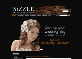 sizzlehairextensions.com