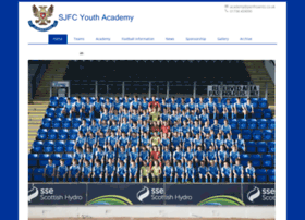 sjfcyouthacademy.co.uk