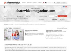 skatevideomagazine.com