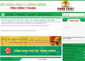 skhcn.binhthuan.gov.vn