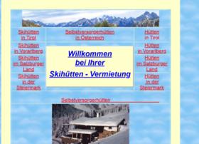 skihuetten-oesterreich.com