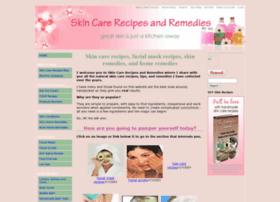 skin-care-recipes-and-remedies.com