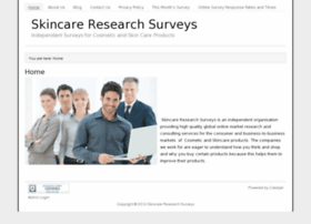 skincareresearchsurveys.com