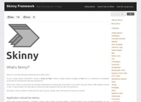 skinny-framework.org
