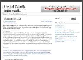 skripsiteknikinformatika.com