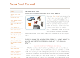 skunksmellremoval.net