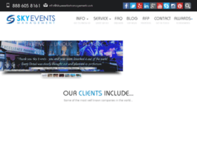 skyeventsmanagement.com