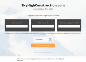 skyhighconstruction.com