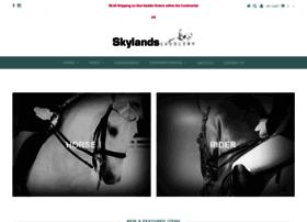 skylandssaddlery.com