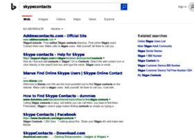 skypecontacts.com
